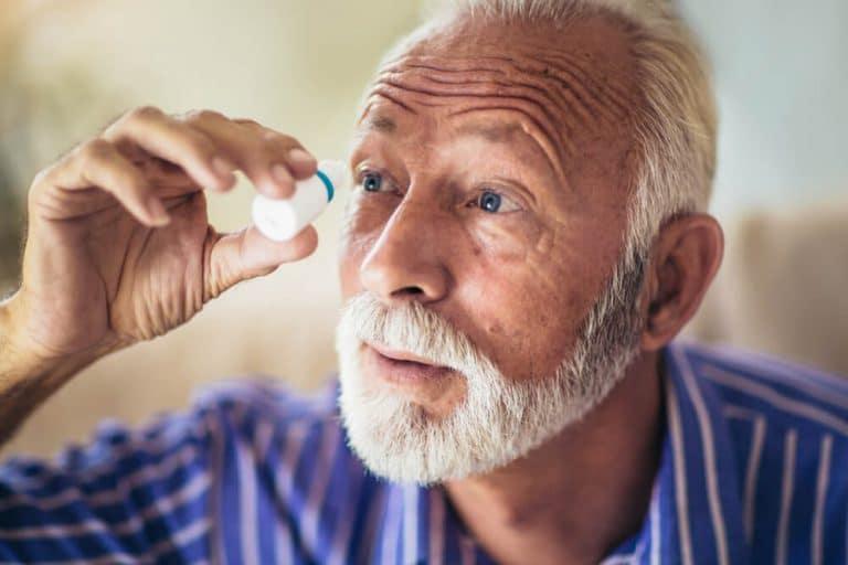 מחלות עיניים בגיל השלישי